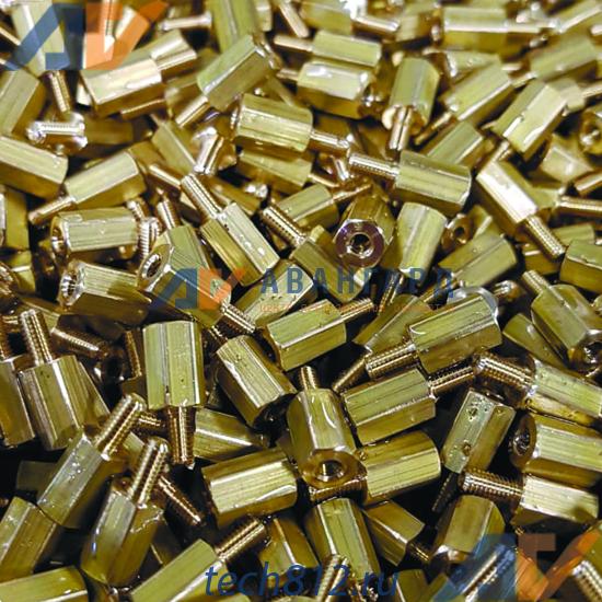 Стойки м2.5 из латуни ЛС-59